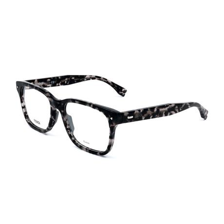 Men's 0218-WR7 Optical Frames // Black Havana