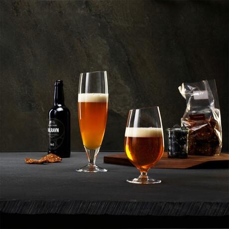 Angled Rim Beer Glass (0.35L)