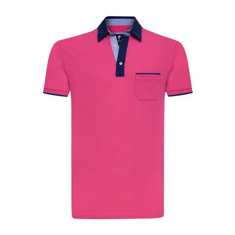 Quinn Polo // Pink (S)