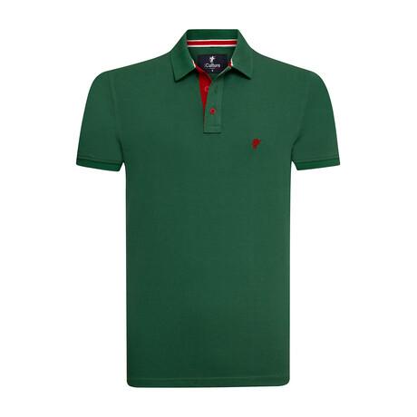 Denali Polo // Green (S)