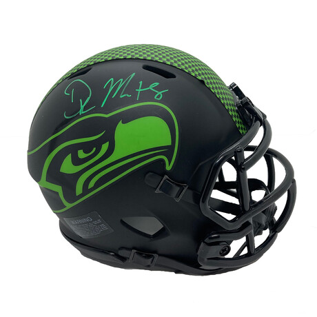 DK Metcalf // Signed Mini Helmet // Seattle Seahawks