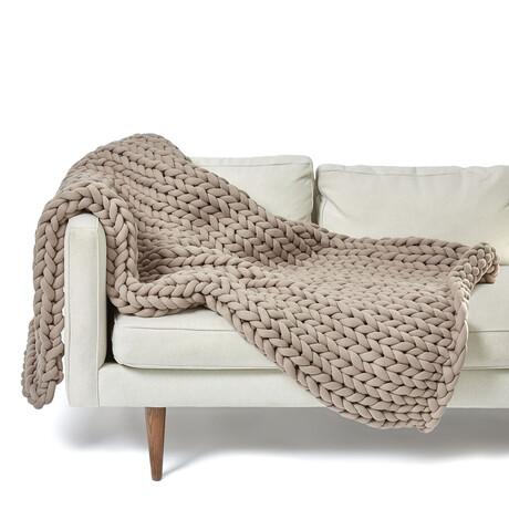 Yaasa Weighted Blanket // Sand (15lbs)