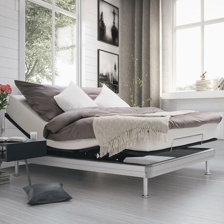 Yaasa Adjustable Bed // Dark (Twin XL)
