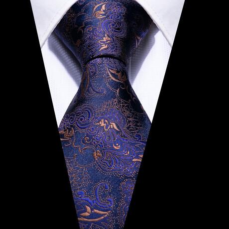 Wassily Silk Tie // Navy
