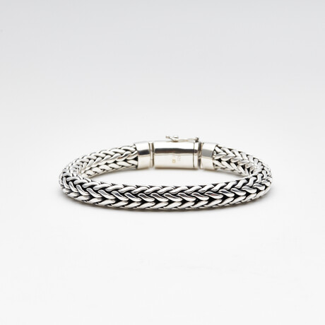 Men's Tulang Naga Bracelet // Silver