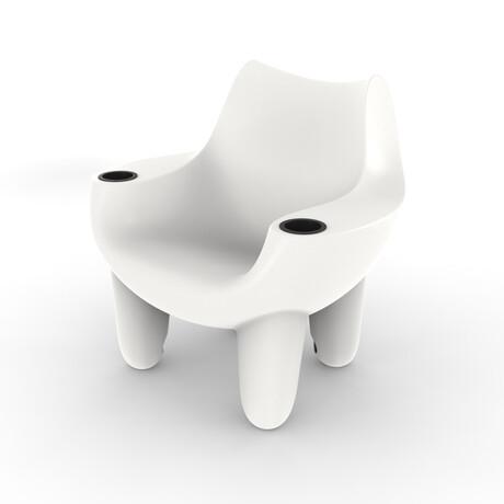 Splash Mibster Chair // White (Single)