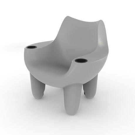 Splash Mibster Chair // Medium Gray (Single)