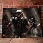 "Drew Brees // The Saint // Canvas (20""W x 16""H x 1.5""D)"