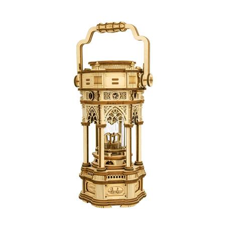 Mechanical Gear Music Box // Victorian Lantern