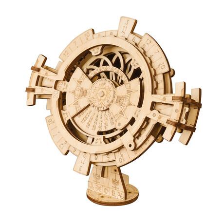 DIY Mechanical Gear 3D Wooden Puzzle // Perpetual Calendar