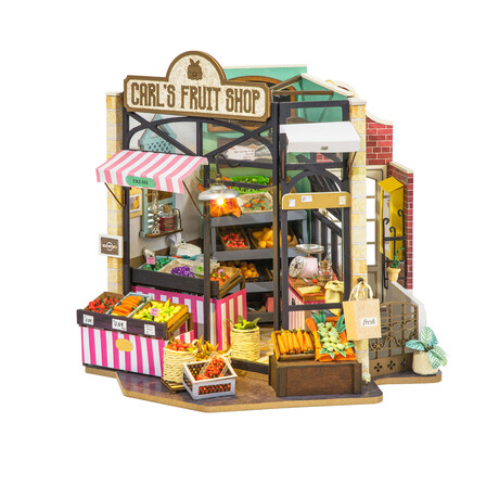 DIY Mini House// Carl's Fruit Shop
