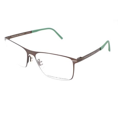 Porsche Design // Men's P8256 Optical Frames // Dark Chocolate