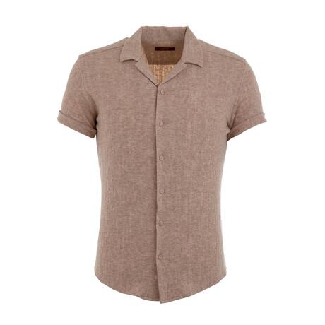 Kelderman Resort Shirt // Beige (XS)