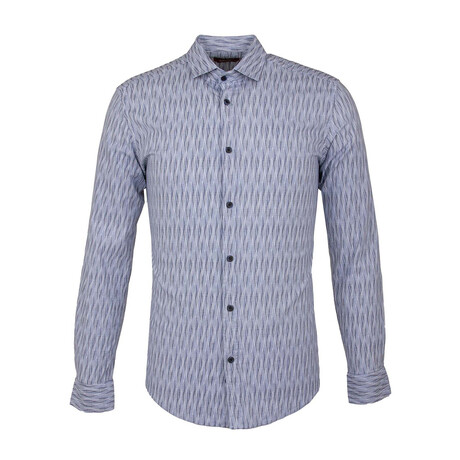 Anacona Long Sleeve Button Up Shirt // White (XS)
