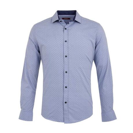 Gesink Long Sleeve Button Up Shirt // Blue (XS)
