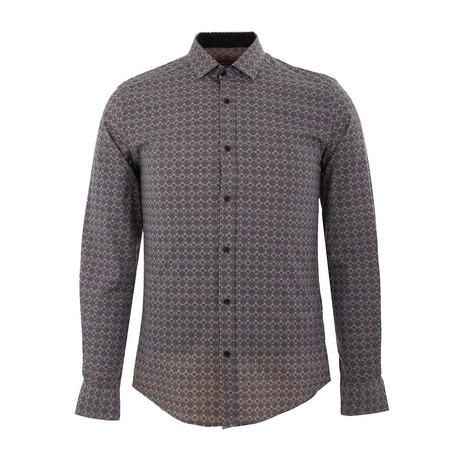 Haas Long Sleeve Button Up Shirt // Beige (XS)