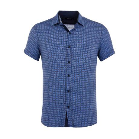 Thomas Button Up Shirt // Sax (XS)