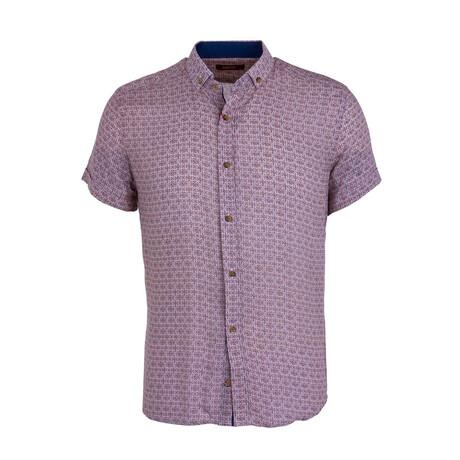 Kuss Button Down Shirt // Beige (XS)
