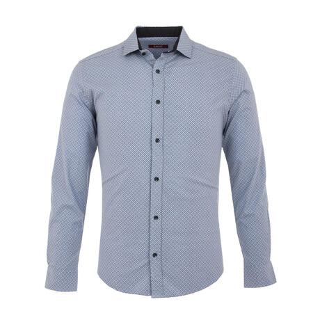 Arcas Long Sleeve Button Up Shirt // Blue (XS)