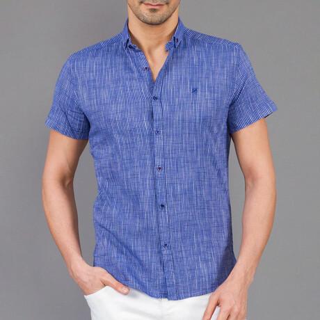 Porte Button Down Shirt // Indigo (XS)