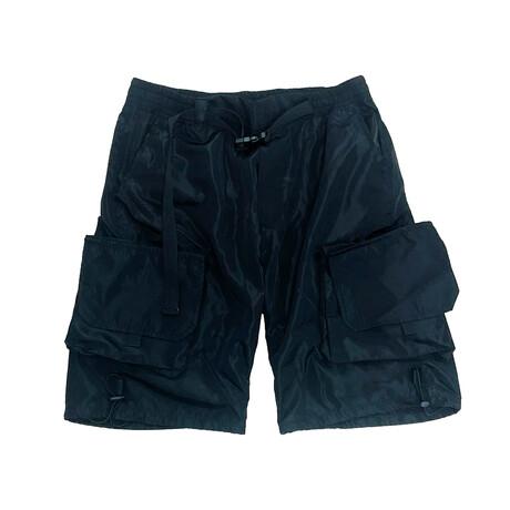 Velcro Pocket Short // Black (XS)