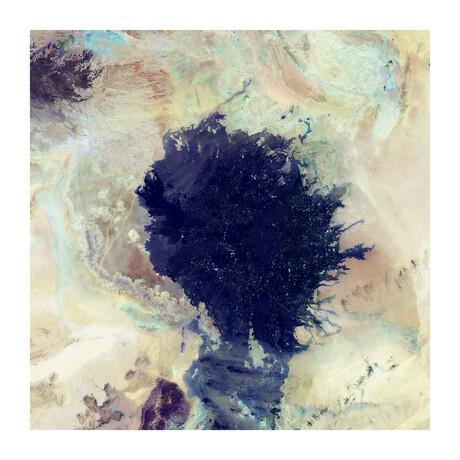 """Lava Field (24""""H x 24""""W x 0.2""""D)"""