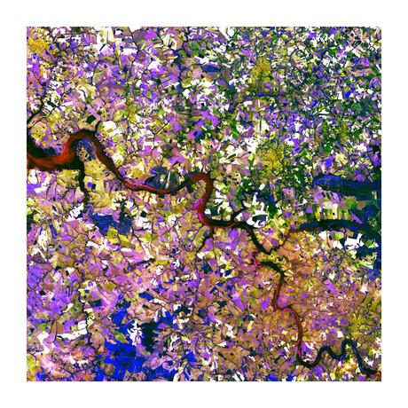 """Tessera Mosaic (12""""H x 12""""W x 0.13""""D)"""