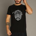 Tupac Shakur T-Shirt // Black (S)
