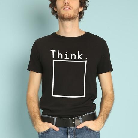 Think T-Shirt // Black (S)