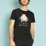 Power Napper T-Shirt // Black (S)