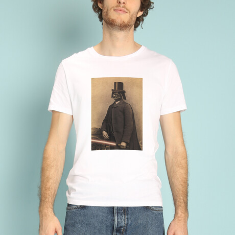 Lord Vader T-Shirt // White (S)