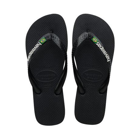 Brazil Logo Sandal // Black (US: 8)