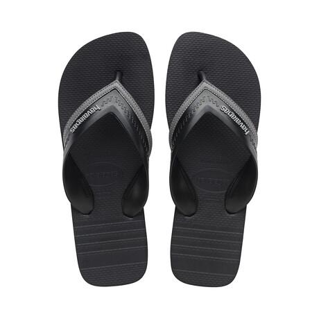 Hybrid City Sandal // Steel Gray + Black (US: 8)