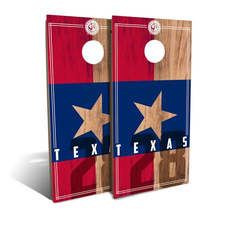 Texas State Flag // Cornhole Board Set (Classic)