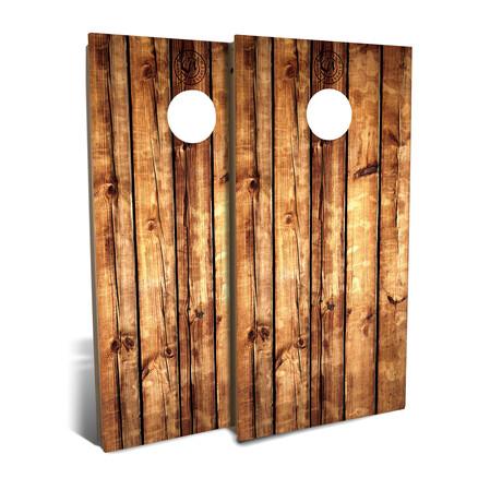 Rustic Pallet Wood // Cornhole Board Set