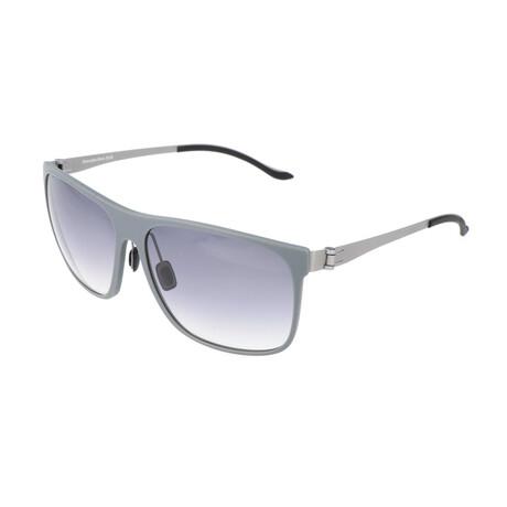 Men's M3016 Sunglasses // Gray + Silver
