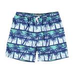 Bali Swim Trunks // Green Palms (M)