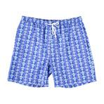 Tahiti Swim Trunks // Blue Turtles (M)