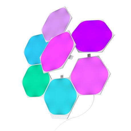 Nanoleaf Shapes // Hexagons Smarter Kit // 7 panels