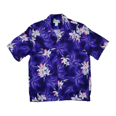 Midnight Orchid Shirt // Red (Small)