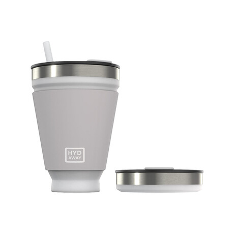 Hydaway Collapsible Tumbler // 16 Fl. Oz. // Set of 2 // Icicle