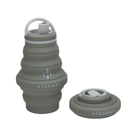Hydaway Collapsible Water Bottle // 17 Fl. Oz // Set of 2 // Thunder