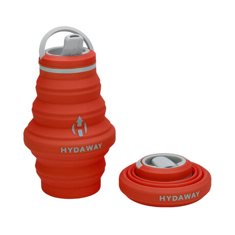 Hydaway Collapsible Water Bottle // 17 Fl. Oz // Set of 2 // Sunset