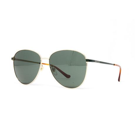 Men's GG0573SK Sunglasses // Gold