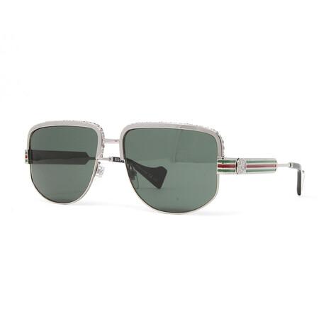 Men's GG0585S Sunglasses // Ruthenium