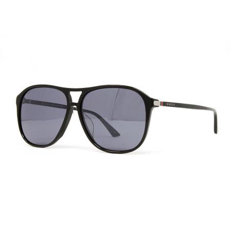 Men's GG0016SA Sunglasses // Black