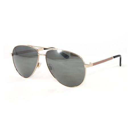 Men's GG0137S Sunglasses // Gold