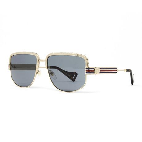 Men's GG0585S Sunglasses // Gold