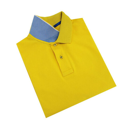 Solid Polo // Yellow (S)