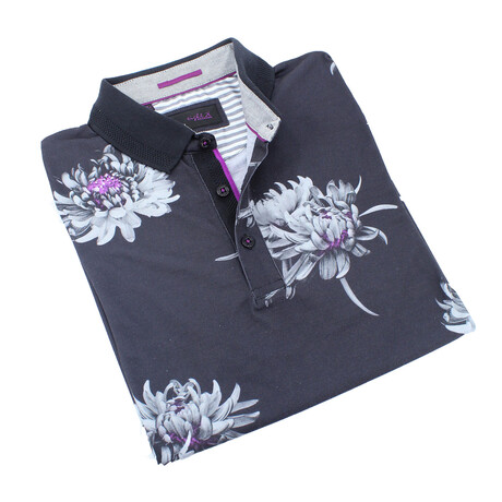 Floral Polo // Lilac (S)